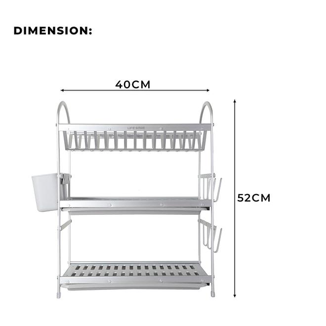 3 Tier Dish Rack [DSH-12]