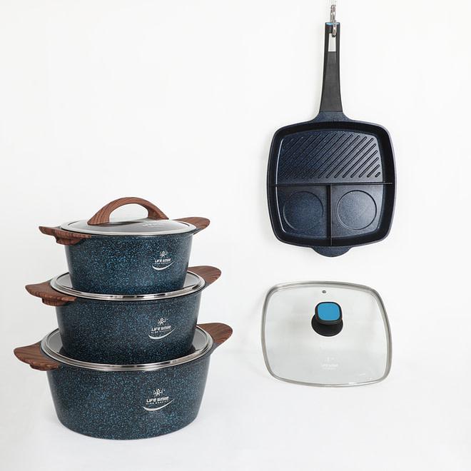 Life smile Buy 1 Cookware Set Get Multi-Pan Free