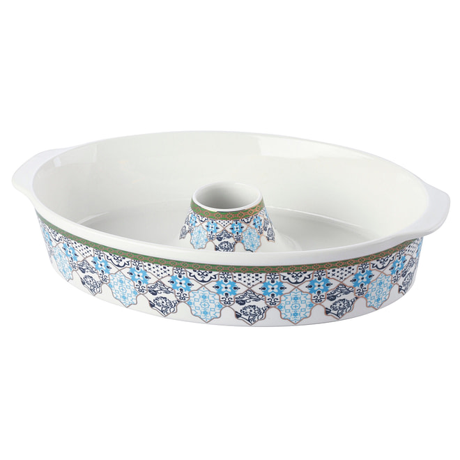 life smile Oval Bakeware