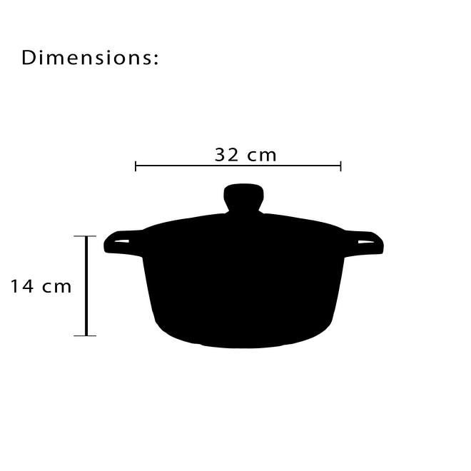 Cookware Set with Granite Coating [FLCM-6-3]