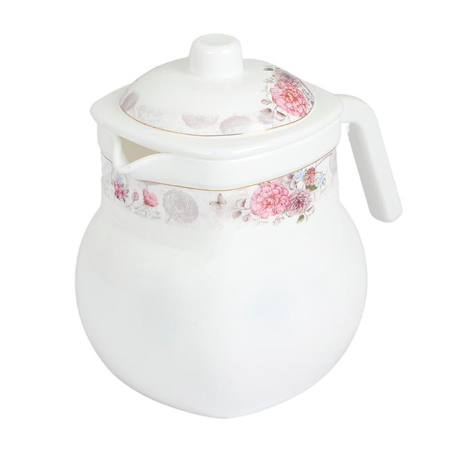 Life Smile Opalware Tea Pot 1.5 Liter