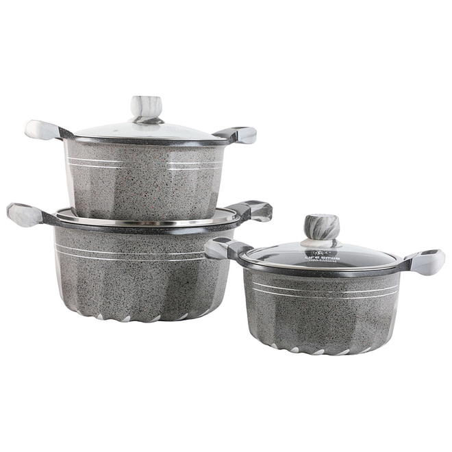 life smile granite coating cookware set