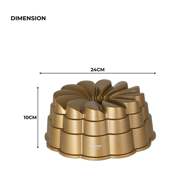 Petal Cake Pan 24x24x10CM [NCK-80]