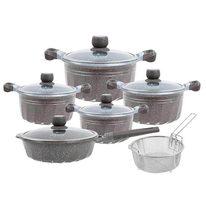 life smile 11PCS Cookware Set