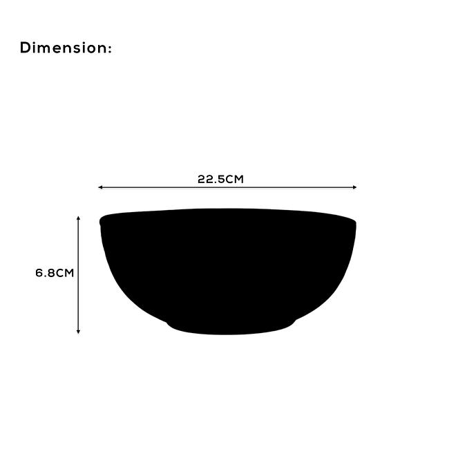 Soup Bowl Set [OP-SBR-5]
