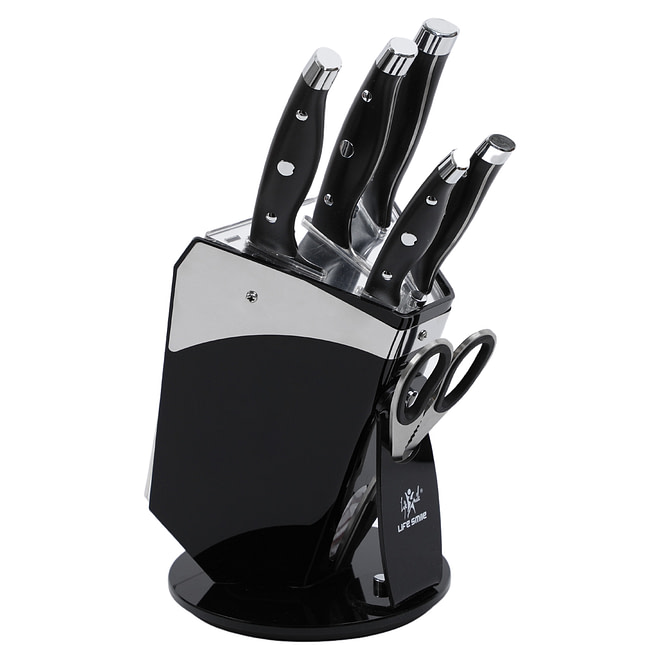 Life Smile 7PCS Stainless Steel Knife Set