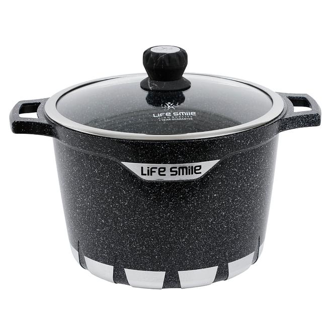life smile granite coating stock pot