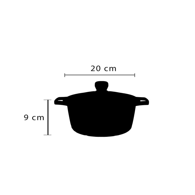 Cookware Set with Granite Coating [FLCM-6]