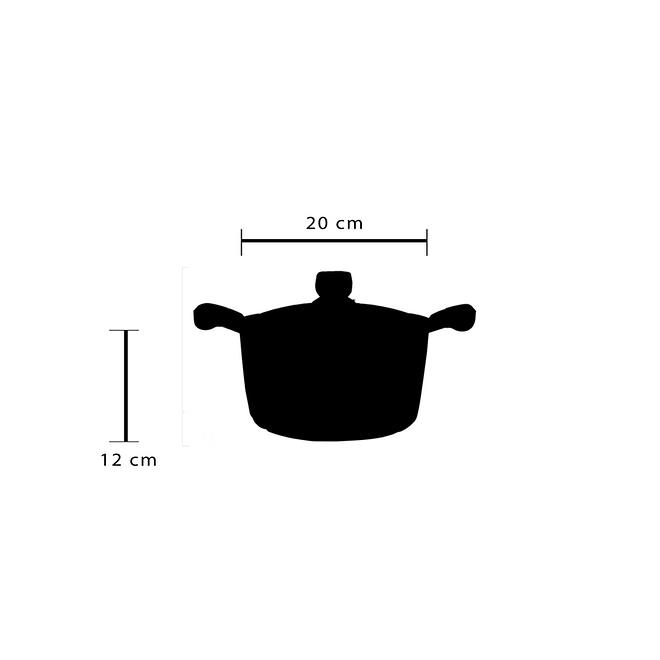 life smile Non Stick Granite Coating Soup Pot [LifeP2]