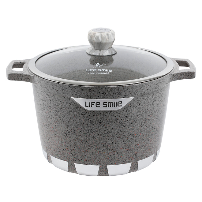 life smile granite coating stock pot