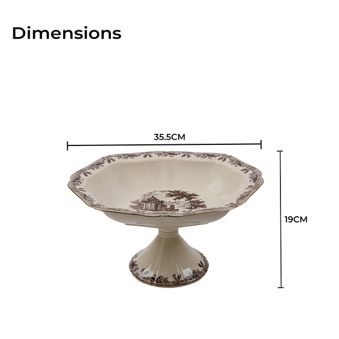 life smile Bowl With Stand