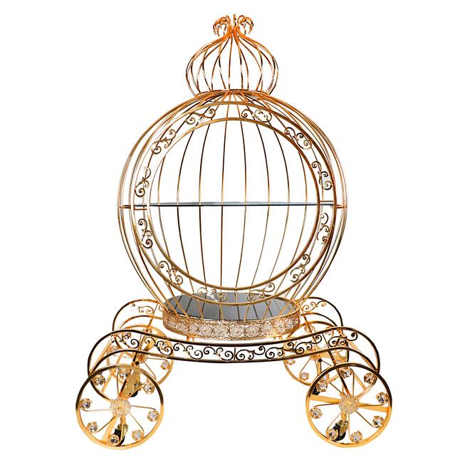 Life Smile Golden Serving Cage