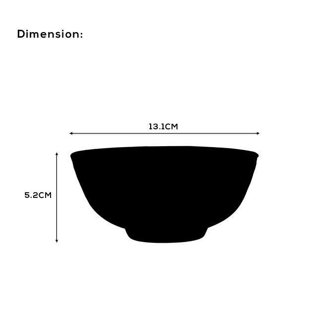 Opalware Soup Bowl Set [OP-TBR-7]