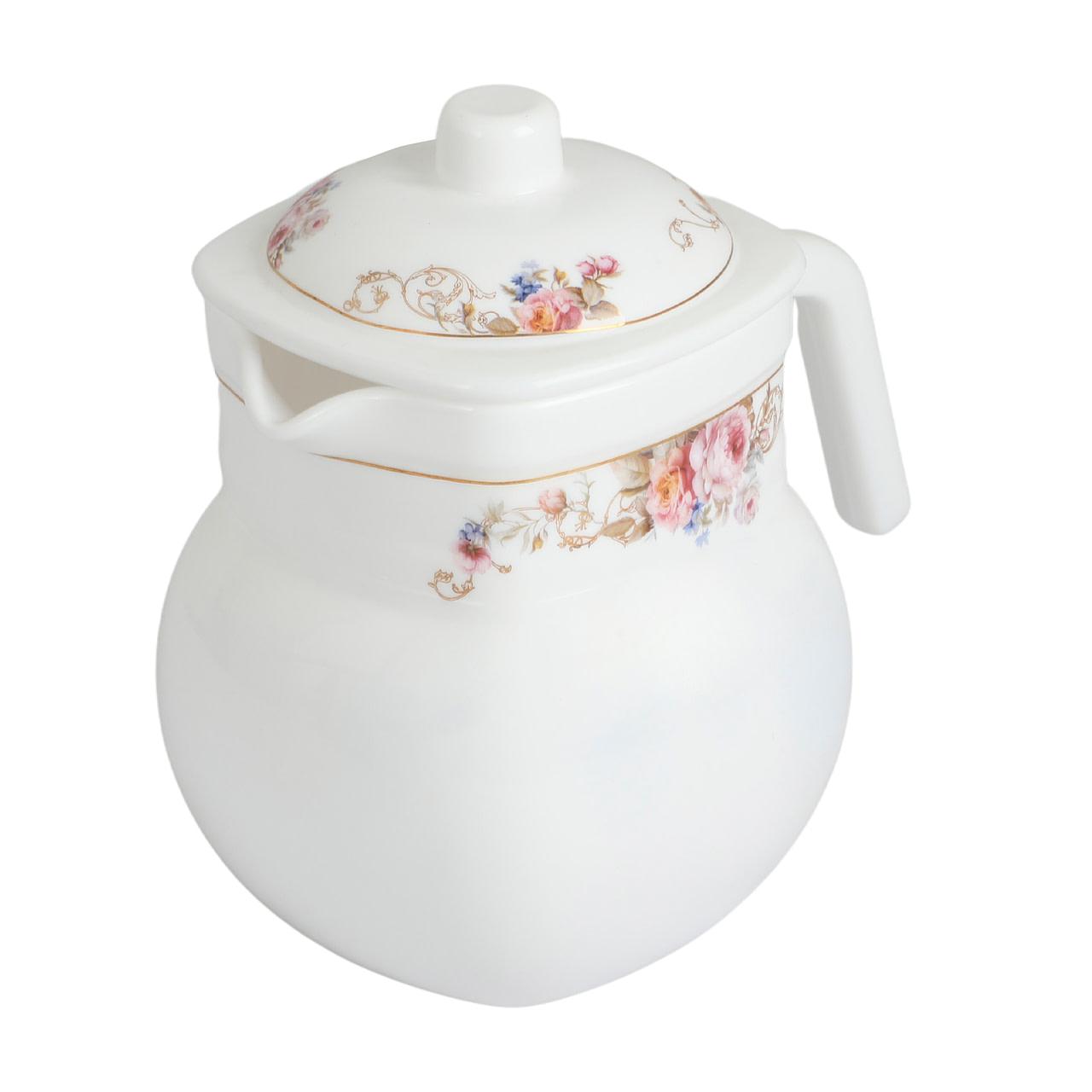 Life Smile Opal ware Tea Pot 1.5 Liter