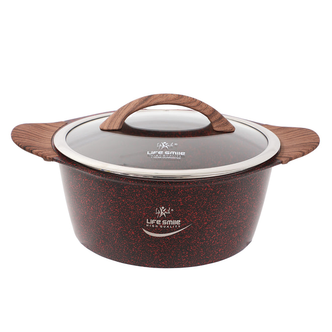 Life smile Soup Pot with Induction Bottom
