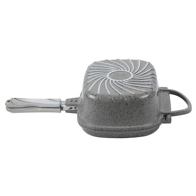 life smile Double Grill Pan with Granite Coating