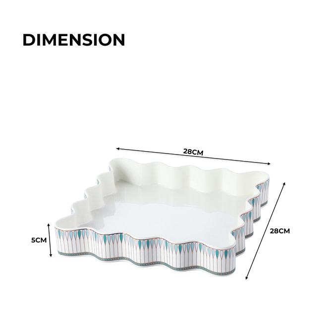 Square Baking Dish [Life-II-16]