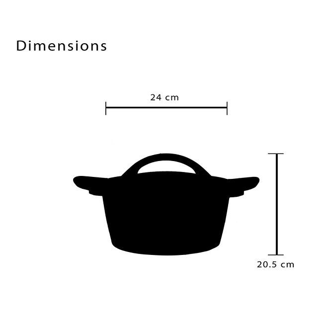 Buy 1 Cookware Set Get Fruit Bowl Free [LifeP5-8-1]