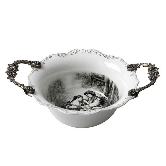 Life Smile Bowl with Handles