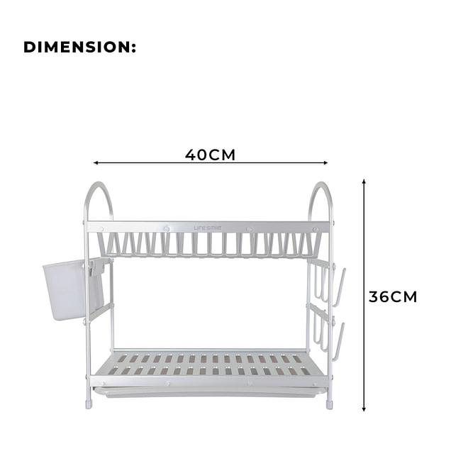 2 Tier Dish Rack [DSH-11]
