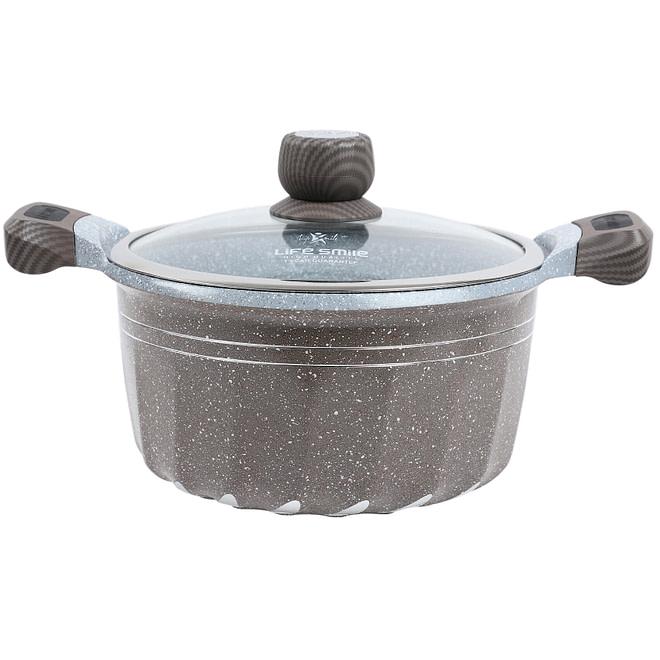 life smile soup pot, casserole pot
