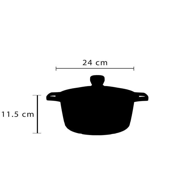 life smile Granite Coating Soup Pot